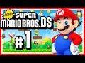 NEW SUPER MARIO BROS. DS # 01 🍄 Marios 2D-Comeback auf dem Nintendo DS! [HD60]