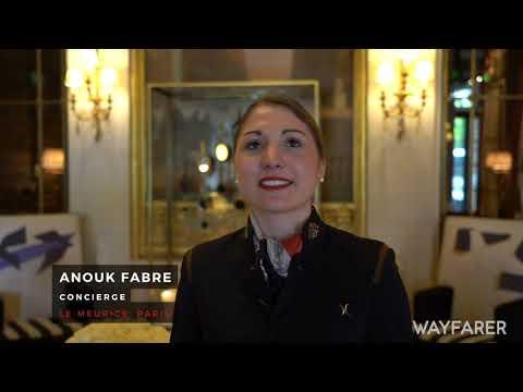 Wayfarer TV: Le Meurice concierge's top Paris tips