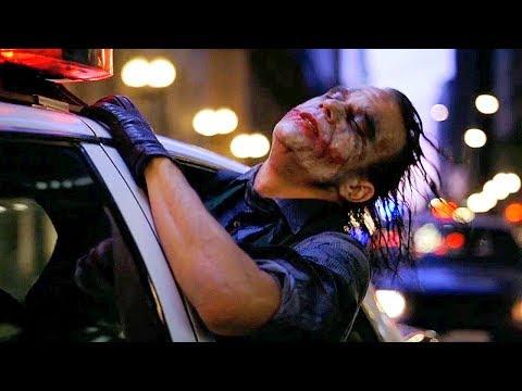 Joker Escapes - Police Car Scene - The Dark Knight (2008) Movie Clip HD