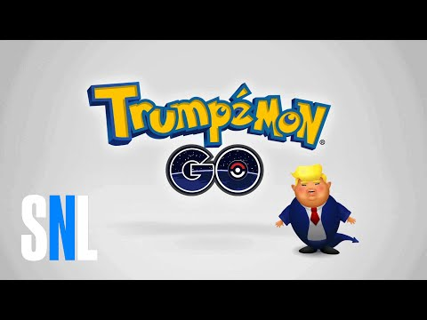 Weekend Update: Trumpémon GO - SNL