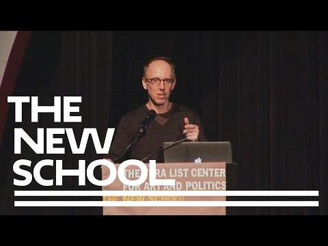 Public Art Fund Talks at The New School: Spencer Finch