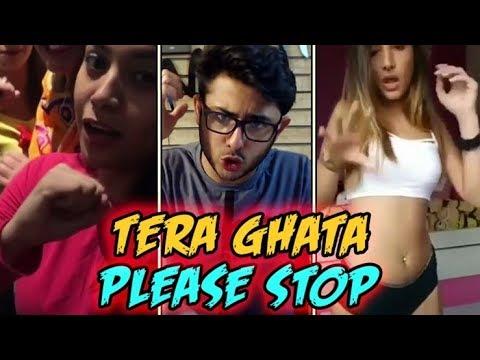 ISME TERA GHATA MERA KUCH NHI JATA || MUSICALLY 4 GIRL SINGING TERA GHATA || TERA GHATA MUSICALLY