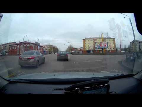 [Time-lapse] + маршрут. Из Новокузнецка в Новосибирск за 20 минут.