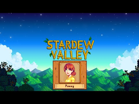 Stardew Valley. Marriage (Penny)