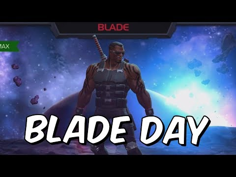 Blade Day Promo - Live Blade Opening Thursday @ 6PM U.K! - Marvel Contest Of Champions