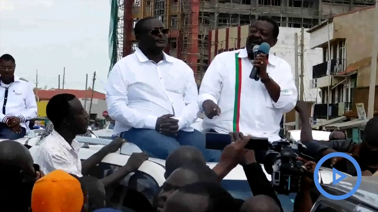 Mudavadi asks Bondo residents to support Raila's call for ...