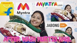 kurti haul/kurtis lookbook/kurtis reviews after wash/jabong haul/myntra haul/meesho haul/haul videos