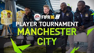 FIFA 16 - Manchester City Player Tournament - Sterling, De Bruyne, Mangala, and Sagna