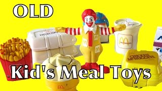 Kids Meal Happy Meal Toys McDonalds Collection Changables Transformers Robot Dinosaurs