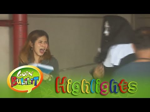 Goin' Bulilit: Raikko does a scare prank with his friend, Valak