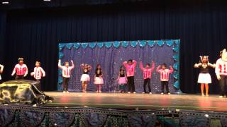 Amazing Kids Bollywood Dance Showcase India 2015