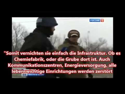 Donezk: Maximale Zerstörung mit allen Mitteln! Das Ergebnis des Einschlags