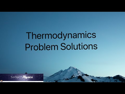 Thermodynamics - Problems