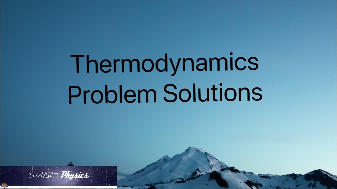 Thermodynamics pdf problems