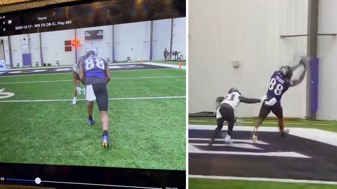 Dez Bryant Show Ravens Practice Clips & What He Could Do With More Opportunities!