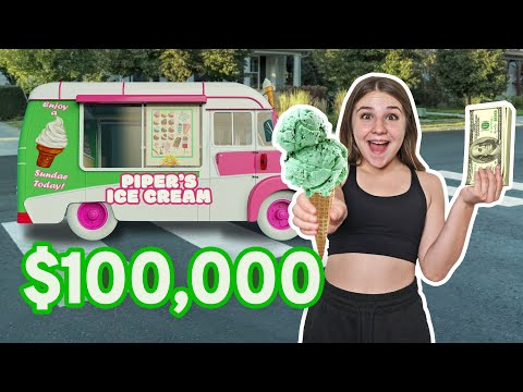 I BOUGHT AN ICE CREAM TRUCK & Surprised My Friends **EMOTIONAL REUNION**🍦💕| Piper Rockelle