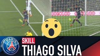 SKILL / GESTE TECHNIQUE : THIAGO SILVA - PARIS SAINT-GERMAIN vs GUINGAMP