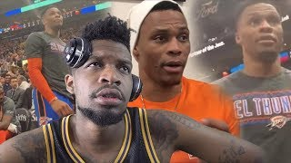 RUSSELL WESTBROOK GOES OFF ON FAN! I GOT A PROBLEM WITH THIS MAN!!