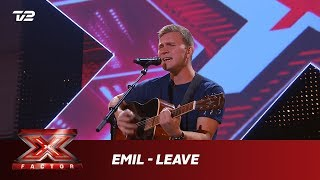 Emil synger 'Leave' - Glen Hansard (5 Chair Challenge)   X Factor 2019   TV 2