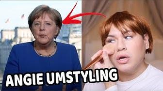 Mega UMSTYLING zu Angela Merkel