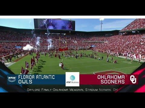 2018-09-01 Florida Atlantic Owls vs Oklahoma Sooners
