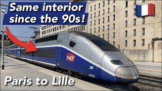 TRIP REPORT | TGV SNCF (ECONOMY 2nd CLASS) | TGV Duplex | Paris Gare du Nord - Lille Europe |