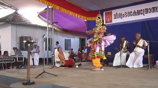 Ottamthullal—Kerala traditional folk dance  Part 1