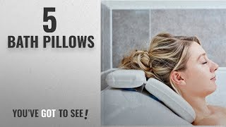 Top 10 Bath Pillows [2018]: Bath Pillow - Best Bath Pillows By Tranquil Beauty For Head And Neck