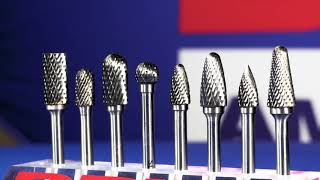 Carbide Burs from Drill America