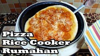 Cara Membuat Pizza Simpel Dengan Rice Cooker