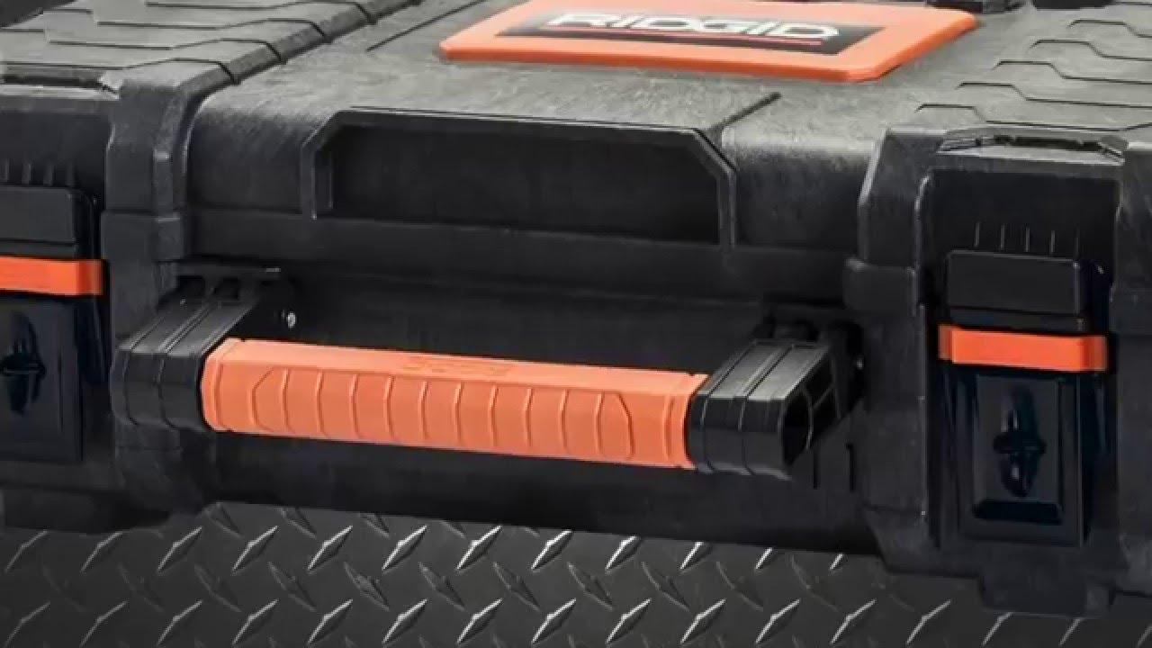 Ridgid Pro Mobile Modular Tool Box System At Home Depot