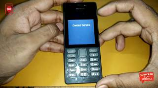 Remove Contact Service Nokia 216(RM-1187) By Infinity BB5 Dongle