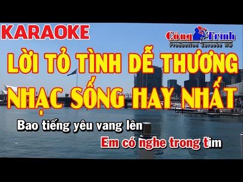 Karaoke Lời Tỏ Tình Dễ Thương Disco Remix | Nhạc Sống Hay Nhất 2017 | Keyboard Trường Giang