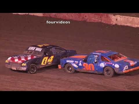Perris Auto Speedway  Factory Stock Main Event Highlights 7-20 -9