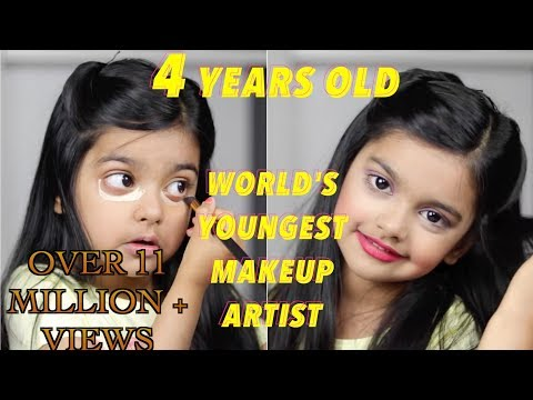 The World's Youngest Makeup Artist