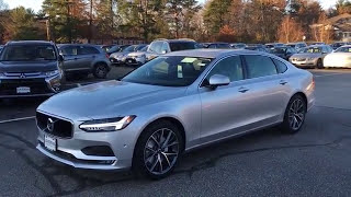 2018 Volvo S90 T5 AWD Walkaround and Review