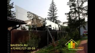 видео Строительство заборов в Лобне, заборы из профнастила Лобня