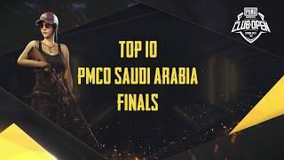 [TOP 10] PMCO Saudi Arabia Semi Finals & Finals | Spring Split | PUBG MOBILE CLUB OPEN 2020