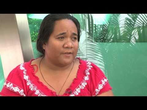 CDKN speaks with Claire Anterea / Phil Glendenning, Pacific Calling Partnership - Kiribati