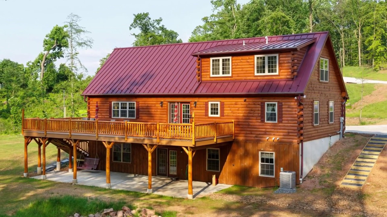 Modular Log Homes by Cozy Cabins - YouTube