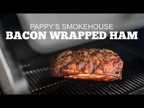 Bacon Wrapped Ham with Pappy's Smokehouse