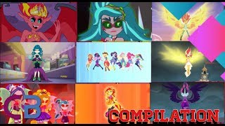 FULL ON COMPILATION OF EVERY SINGLE TRANSFORMATION EVER IN THE EQUESTRIA GIRLS SERIES Hope you all enjoy my video today sorry that I ...