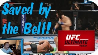 UFC2: Ultimate Team - Winning an Intense Game, Saved by the Bell!