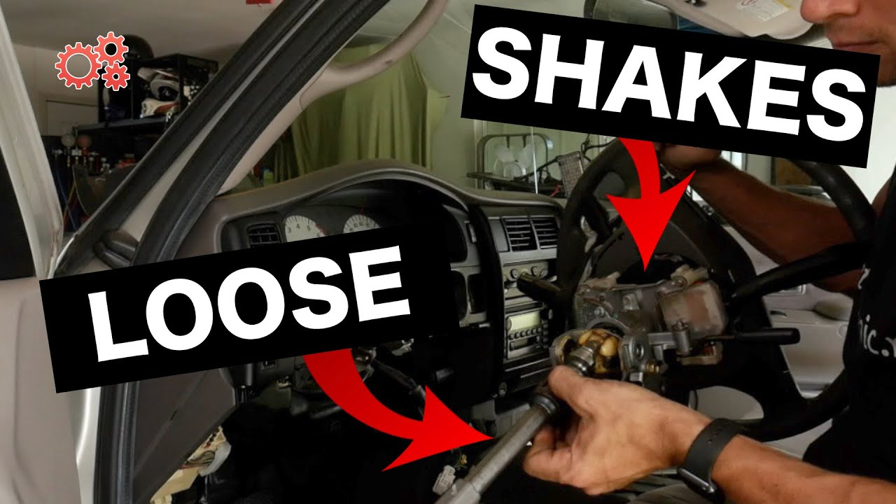 Loose Steering Column Fix Toyota Tacoma | Shake, Rattle, Slack - Weld Mod  Instructions