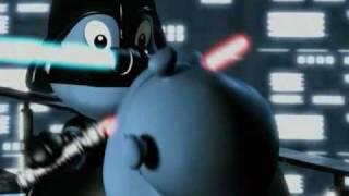StarWars - Das Hipperium spielt verrückt - Schwertkampf (4/5) Ü-Ei Werbespot