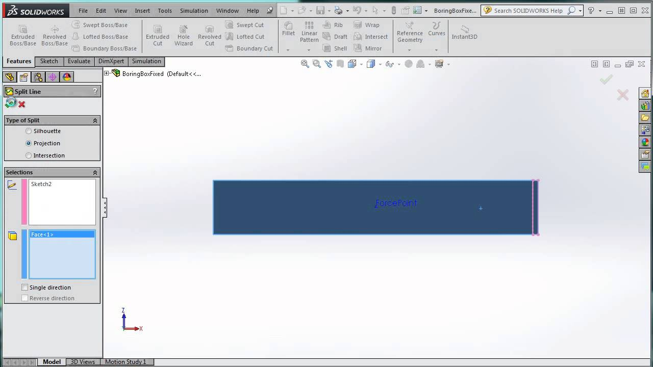 fixed point reaction moment calculation in solidworks simulation