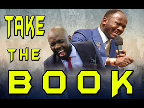 TAKE THE BOOK -  Apostle Johnson Suleman - Pastor Rich