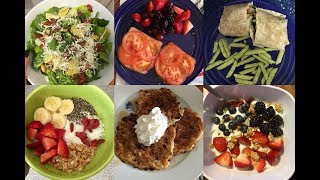 Healthy Food Diary for Weight Loss | Top Chef Meals
