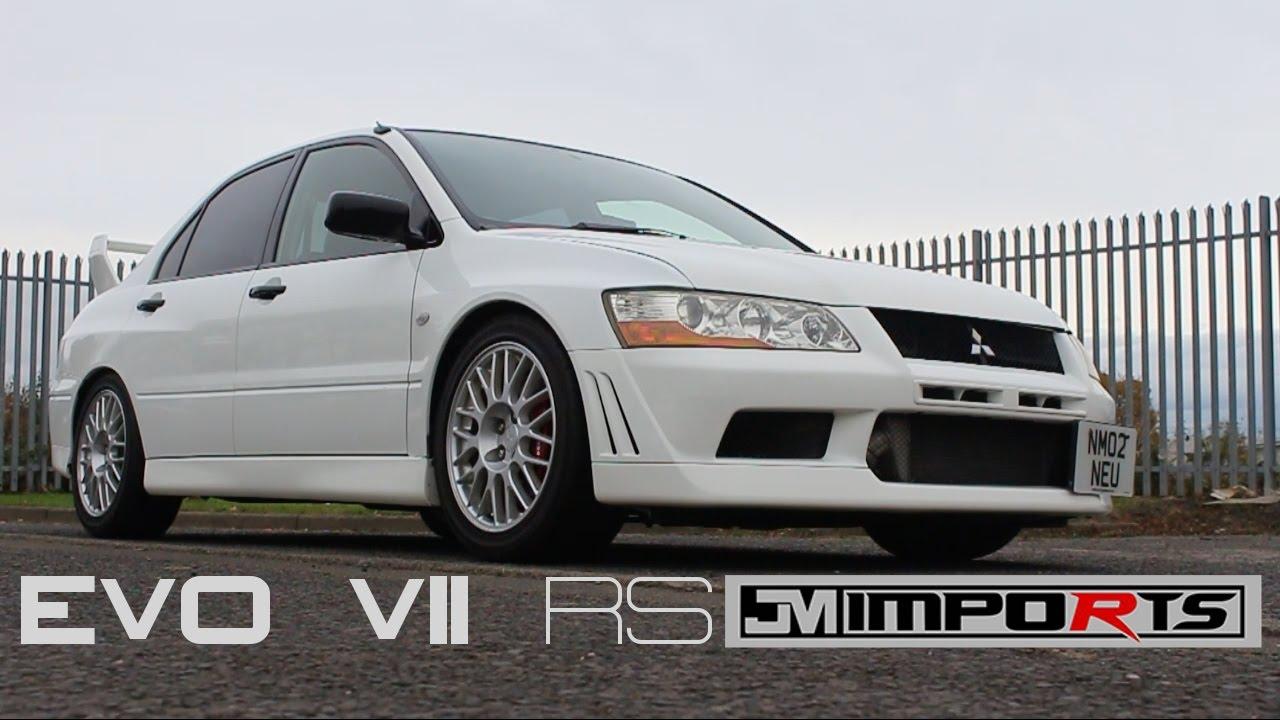 Mitsubishi Lancer Evo VII RS - YouTube