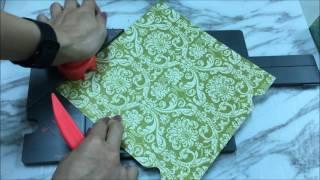 牧莎DIY Craft TV - WRM禮物盒造型-魔法立體盒製作板使用方式  Gift Box